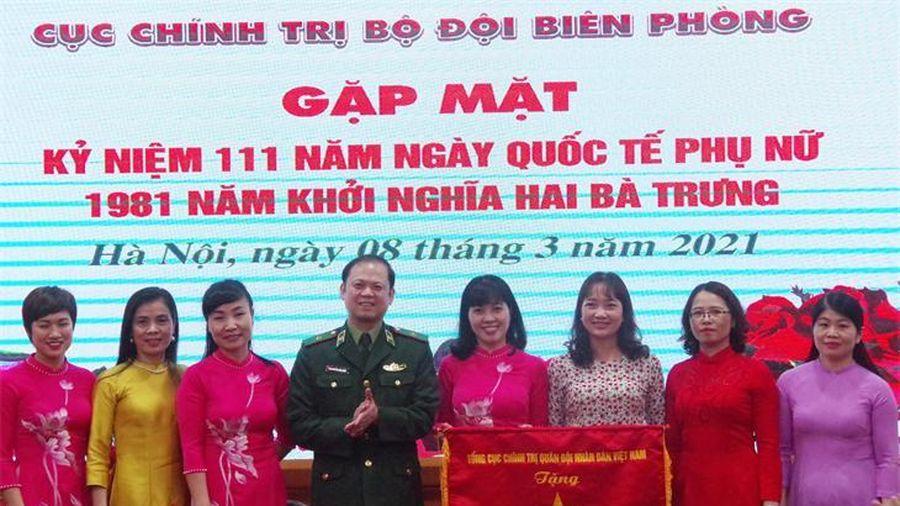 Cục Chính trị BĐBP gặp mặt đại diện hội viên Hội Phụ nữ nhân Ngày Quốc tế Phụ nữ