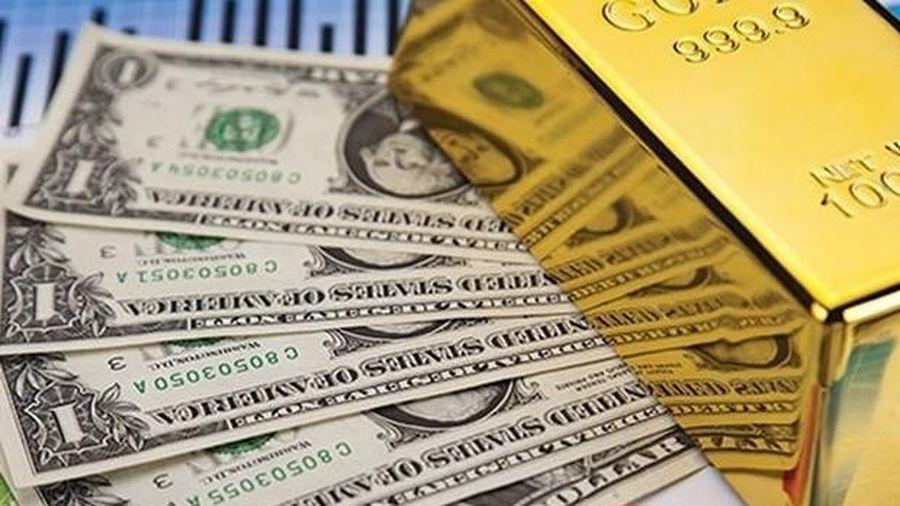 Giá vàng và USD đồng loạt tăng trở lại