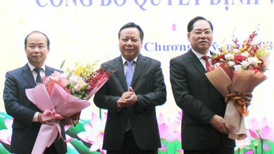Hà Nội: Phó Giám đốc Sở Nội vụ được giới thiệu bầu làm Chủ tịch huyện Chương Mỹ