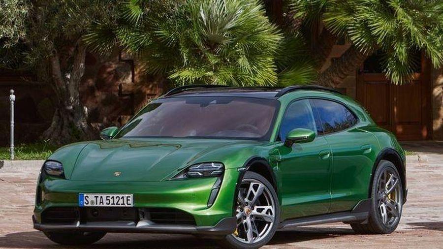 Porsche Taycan Cross Turismo chính thức ra mắt