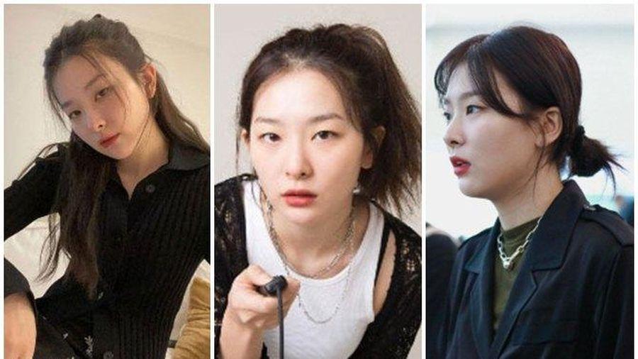4 kiểu tóc buộc 'ẩu' mà xinh xỉu của Seulgi, giúp nhan sắc lên hương mỗi ngày