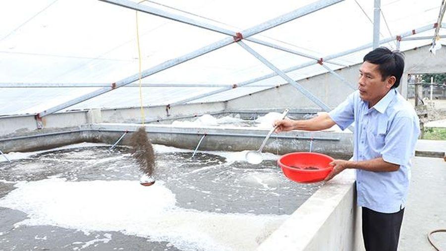 Chuyện xây nhà nuôi tôm ở huyện biển Hà Tĩnh