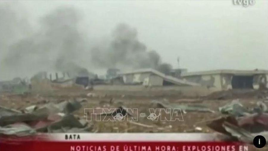 Nguyên nhân các vụ nổ lớn ở doanh trại quân đội Guinea Xích Đạo