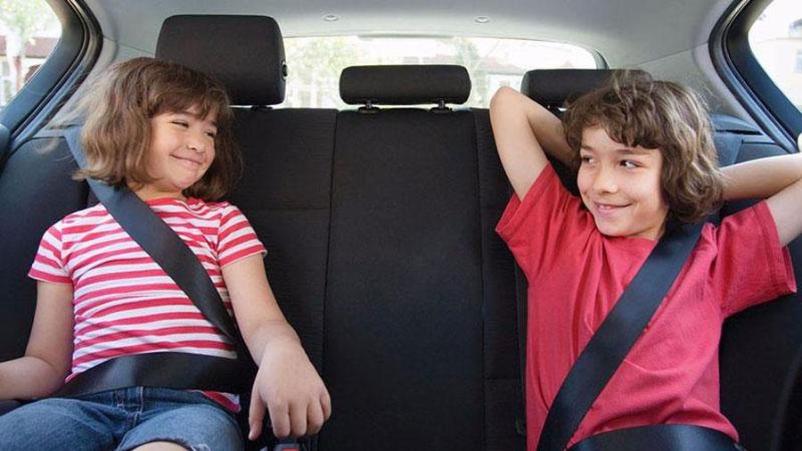 Top 10 nguyên tắc 'sống còn' khi trên xe có trẻ nhỏ