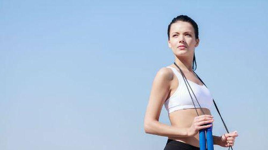 Giảm cân cực dễ bằng bài tập nhảy dây