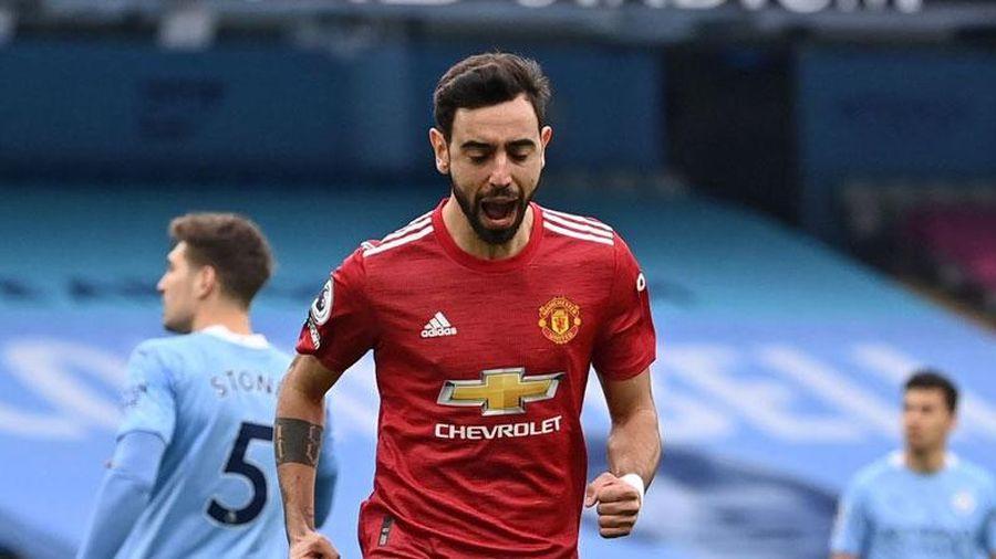 Fernandes lý giải màn ăn mừng bàn thắng trước Man City