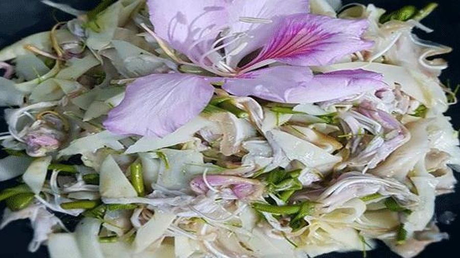 Loài hoa tháng 3 nở tím trời chế biến thành đặc sản Tây Bắc
