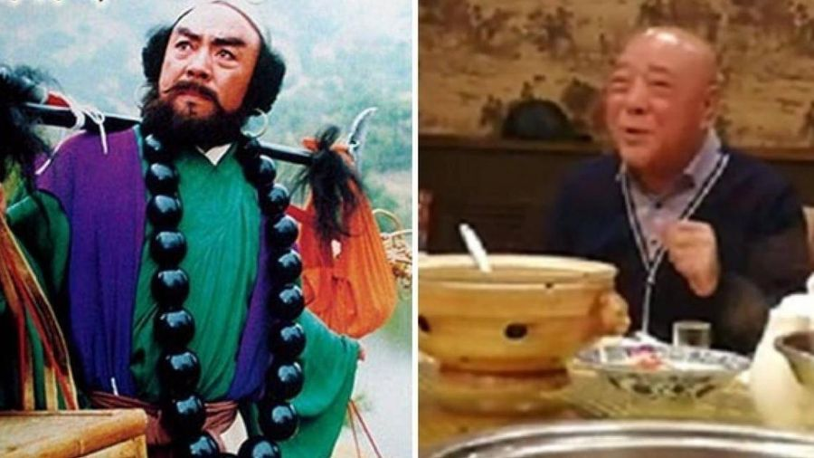 'Sa Tăng' Lưu Đại Cương lộ diện ở tuổi 73, cạo đầu trọc