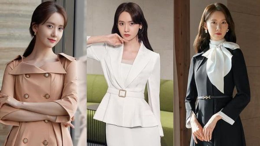 Học chiêu hóa 'nữ thần công sở' của Yoona