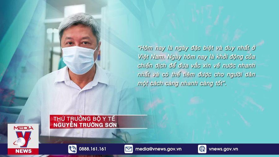 Những mũi tiêm vaccine COVID-19 đầu tiên tại Việt Nam