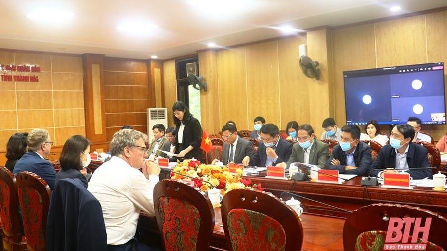 Phó Chủ tịch UBND tỉnh Nguyễn Văn Thi làm việc với đoàn công tác của Đại sứ quán Đan Mạch tại Việt Nam