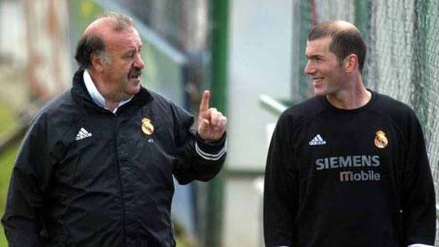 Zidane cân bằng thành tích của Del Bosque