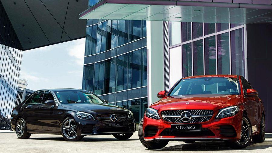 Mercedes-Benz C 180 AMG ra mắt thị trường Việt Nam: tinh chỉnh ngoại thất và vận hành