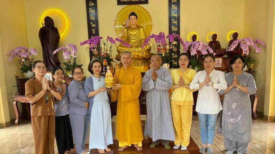 Khánh Hòa: Phật tử cúng dường 100 tôn tượng Bồ-tát Quán Thế Âm