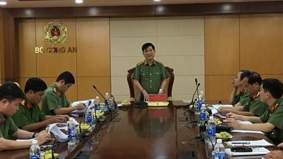 Thứ trưởng Nguyễn Văn Sơn kiểm tra công trình trụ sở Bộ và công tác quản lý đất an ninh