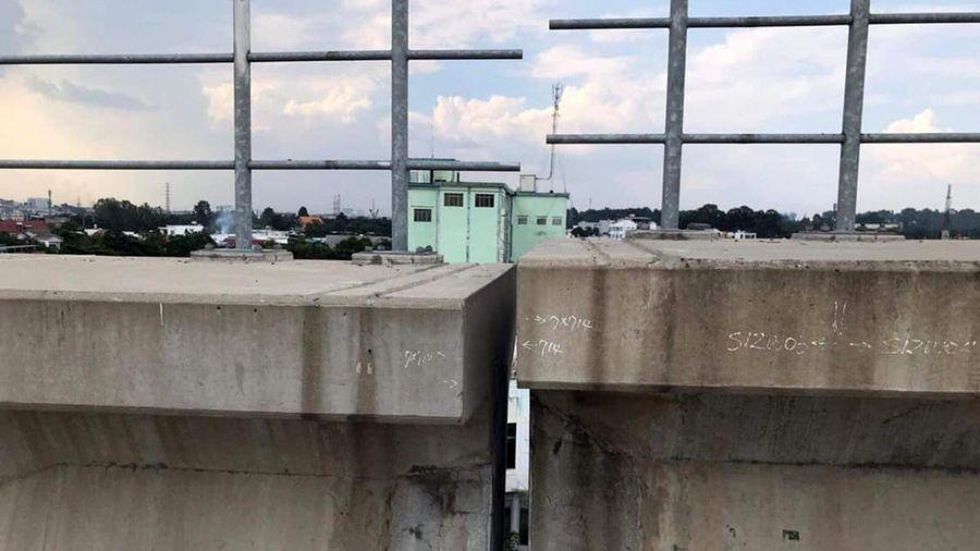 Sự cố sập dầm cầu metro số 1: Nhà thầu thừa nhận việc chế tạo gối cầu không đạt yêu cầu