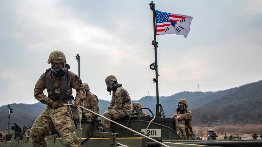 Quân đội Mỹ, Hàn Quốc tập trận chung từ ngày quốc tế phụ nữ 8/3 bất chấp Covid-19
