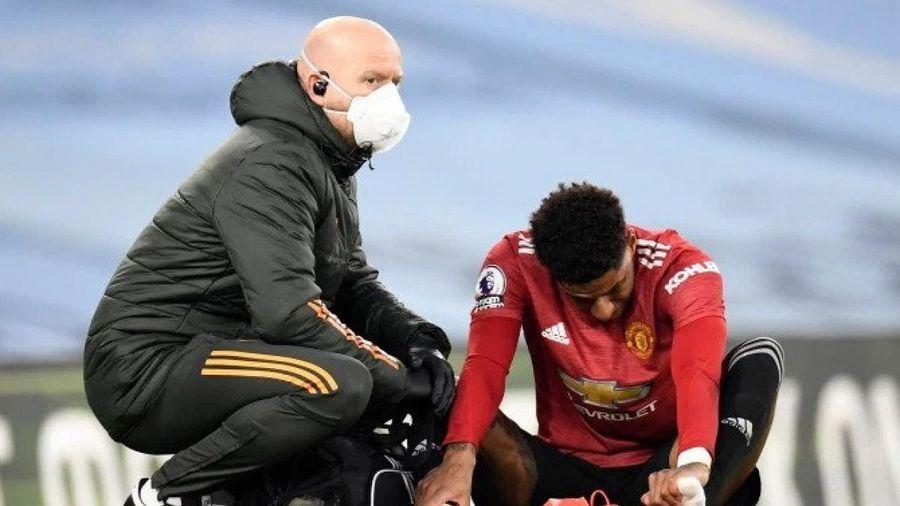 Rashford chấn thương, có thể lỡ trận 'đại chiến' MU - Milan