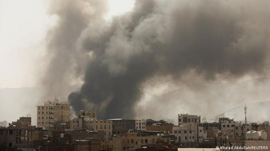 Cháy trại tị nạn ở Yemen, gần 180 người thương vong