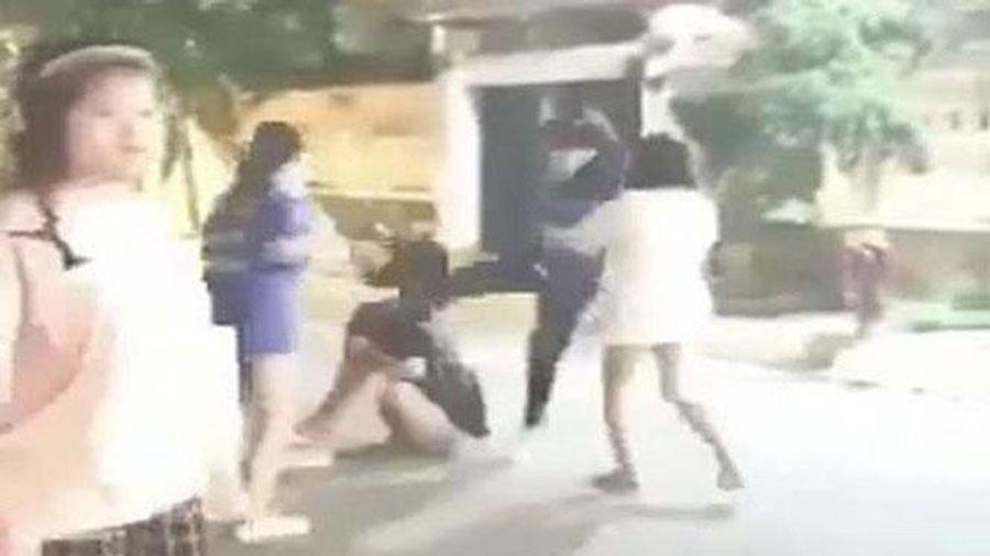 Xử lý nghiêm nhóm học sinh Trường Trung học cơ sở Sen Phương đánh nhau