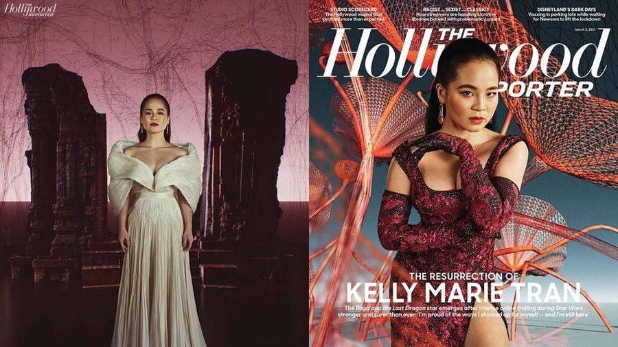 'Công chúa Disney' gốc Việt Kelly Marie Trần đầy quyền lực trong trang phục CONG TRI