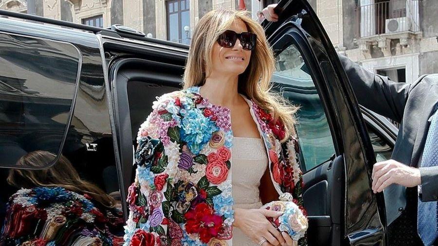 Bà Melania bị gọi là 'vợ cảnh' của ông Trump