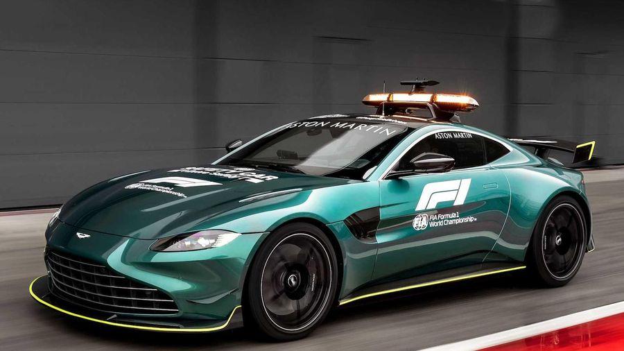 Aston Martin Vantage phiên bản xe an toàn trên đường đua F1