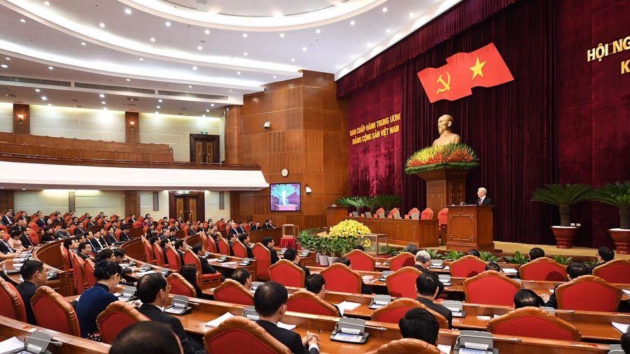 Thông cáo báo chí phiên bế mạc Hội nghị Trung ương 2