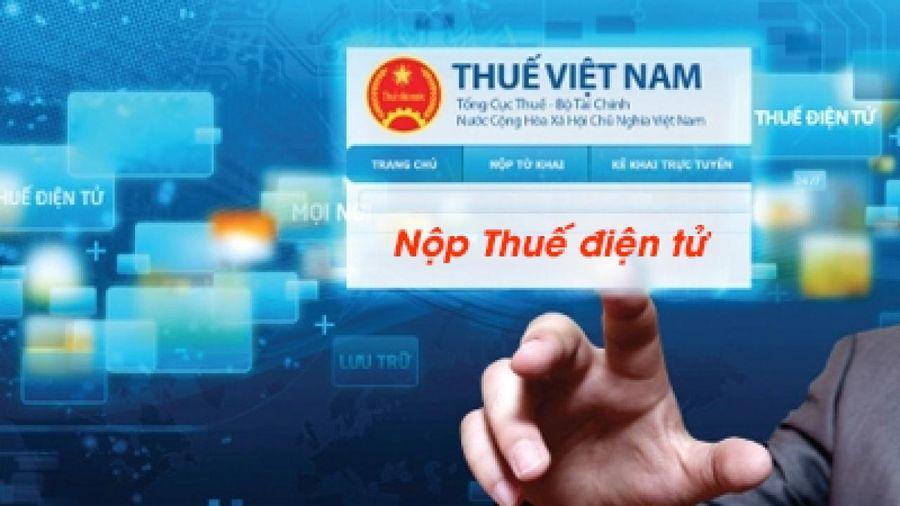 Hướng dẫn nộp hồ sơ quyết toán thuế TNCN theo phương thức điện tử