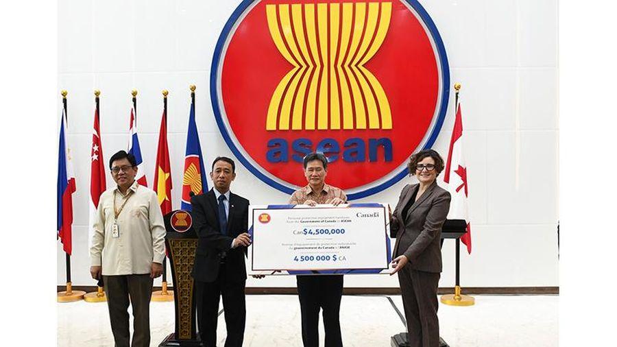 ASEAN và Ca-na-đa tăng cường hợp tác