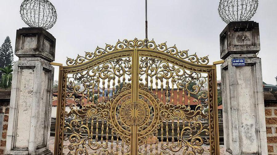 Cục Di sản Văn hóa: Tháo dỡ đèn và nghiên cứu sử dụng cổng đình Tây Đằng đúng tính chất, giá trị của di tích