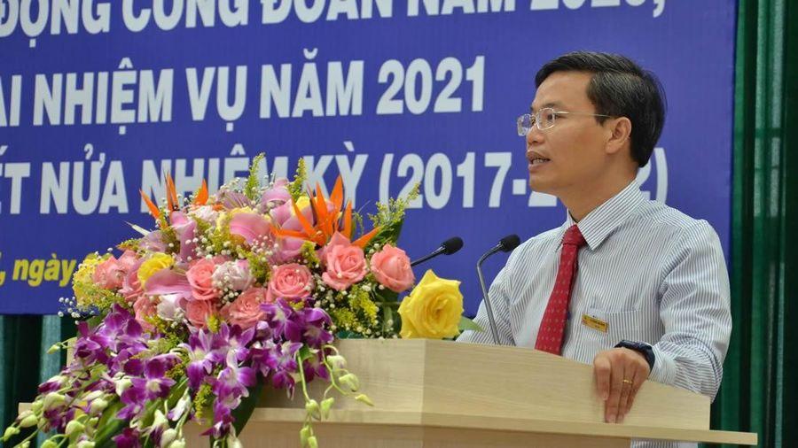 Tổng kết hoạt động công đoàn PC Quảng Ngãi năm 2020