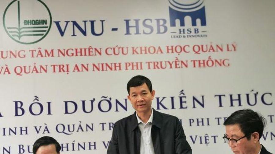 Lần đầu tiên tuyển sinh, đào tạo cử nhân Quản trị và An ninh tại Việt Nam