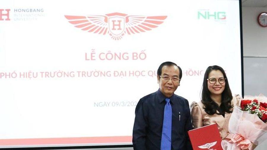 Trường ĐH Quốc tế Hồng Bàng bổ nhiệm thêm Phó hiệu trưởng