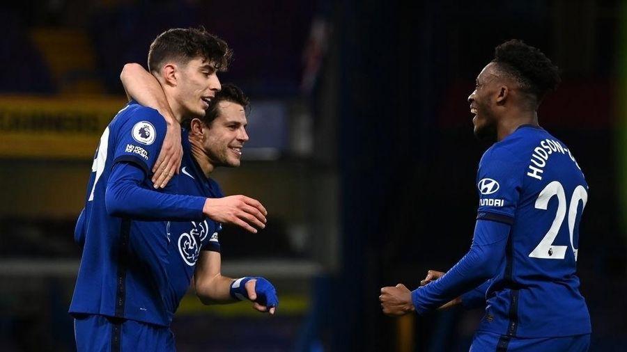 Thắng thuyết phục Everton, Chelsea giữ mình trong top 4