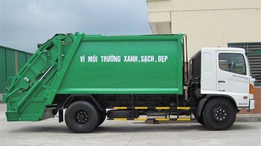 Hà Nội: Kiểm tra, xử lý các xe rác không đảm bảo yêu cầu