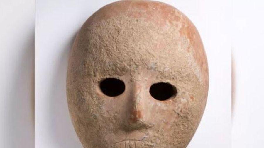 Khám phá mặt nạ siêu quý 9.000 năm tuổi được tìm thấy ở Israel