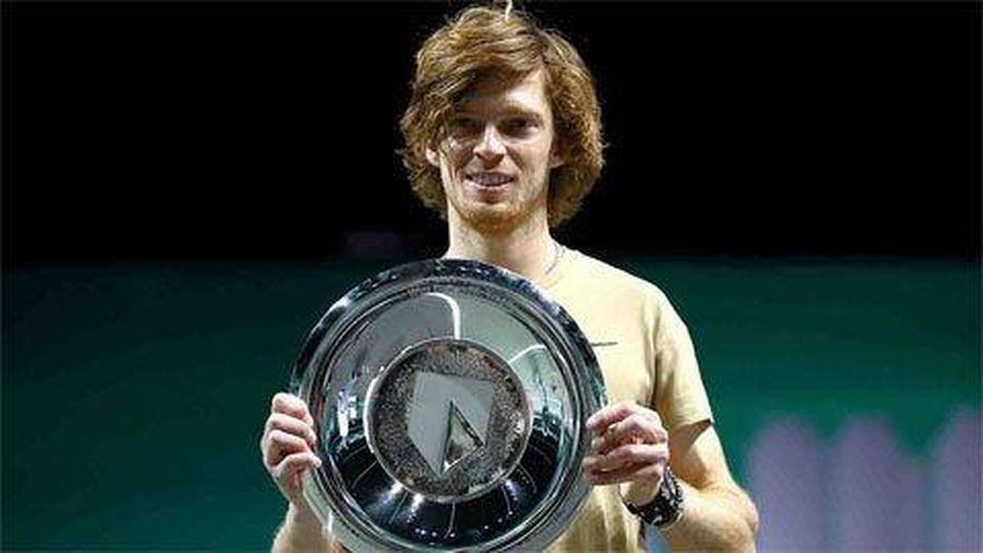 Andrey Rublev vô địch giải Rotterdam mở rộng