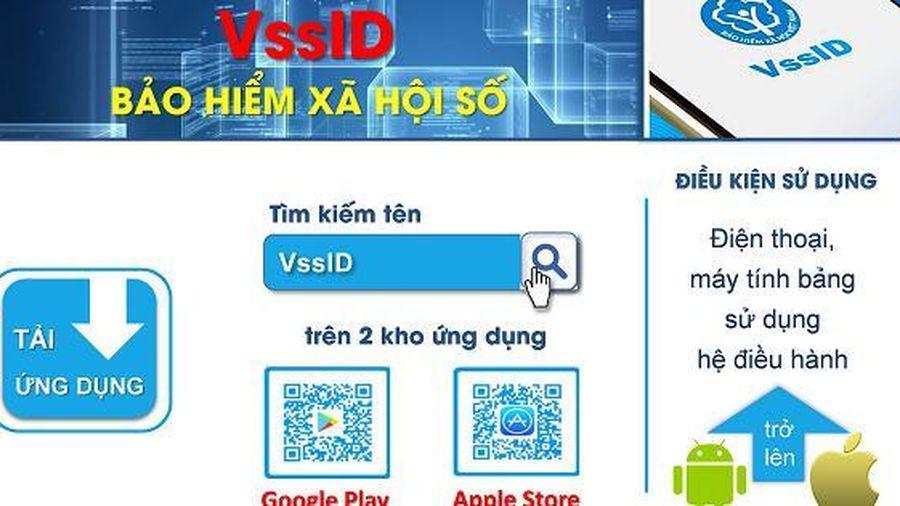 Hơn 550 nghìn lượt tải, cài đặt và sử dụng ứng dụng VssID-BHXH số