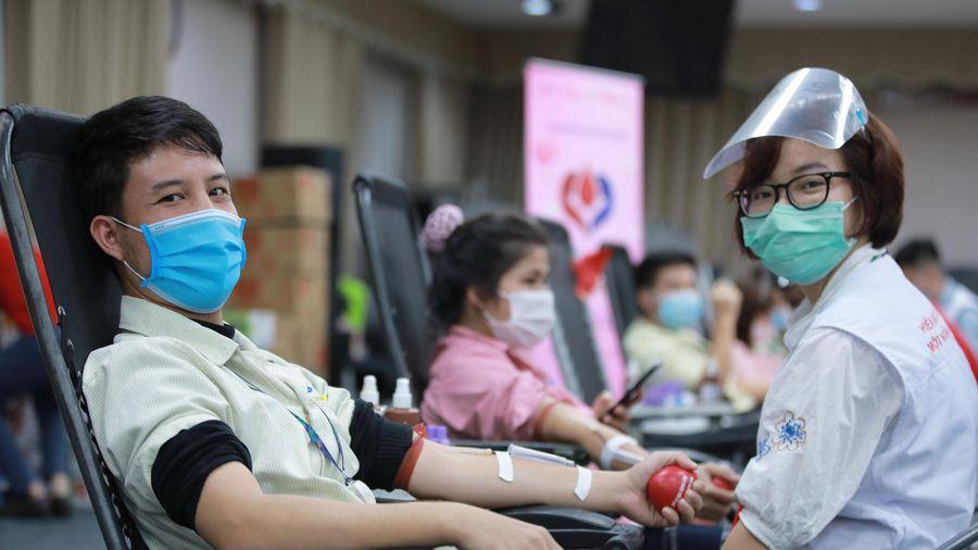 15.000 đơn vị máu được hiến tặng từ Chung dòng máu Việt 2020