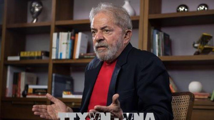 Tòa án Tối cao Brazil hủy bản án hình sự đối với cựu Tổng thống Lula da Silva