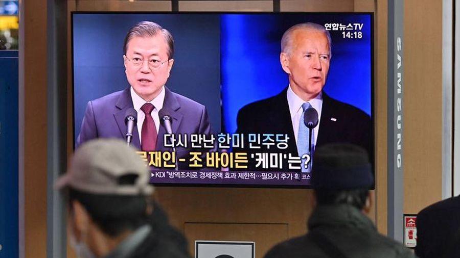 Hàn Quốc kỳ vọng vào Tổng thống Biden về vấn đề Triều Tiên