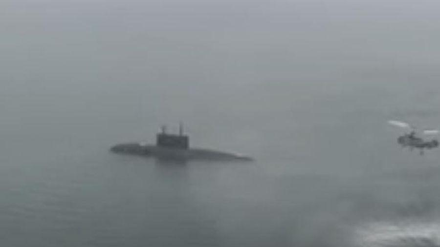 Tàu và máy bay NATO truy đuổi tàu ngầm Nga trang bị Calibre trong ba ngày
