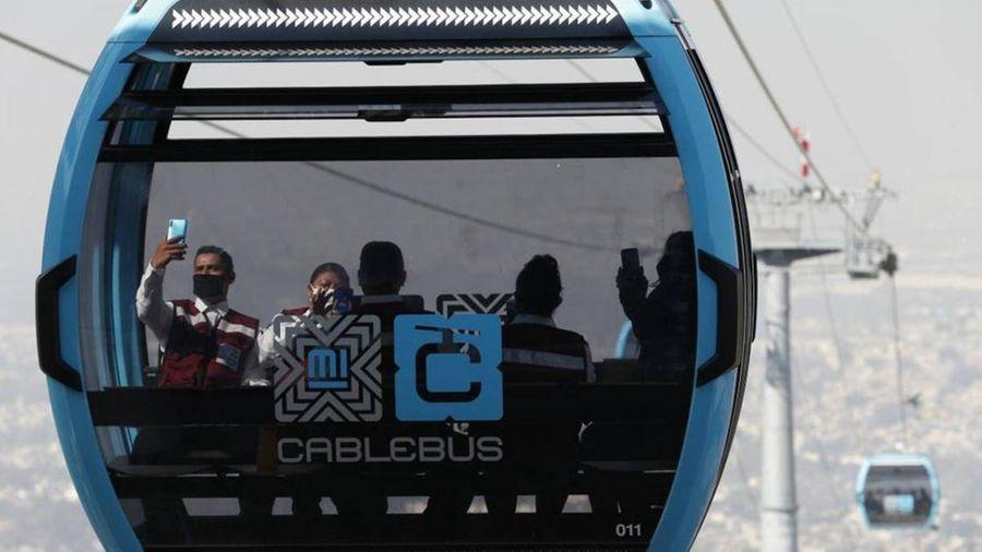 Mexico City dùng cáp treo phục vụ vận tải công cộng
