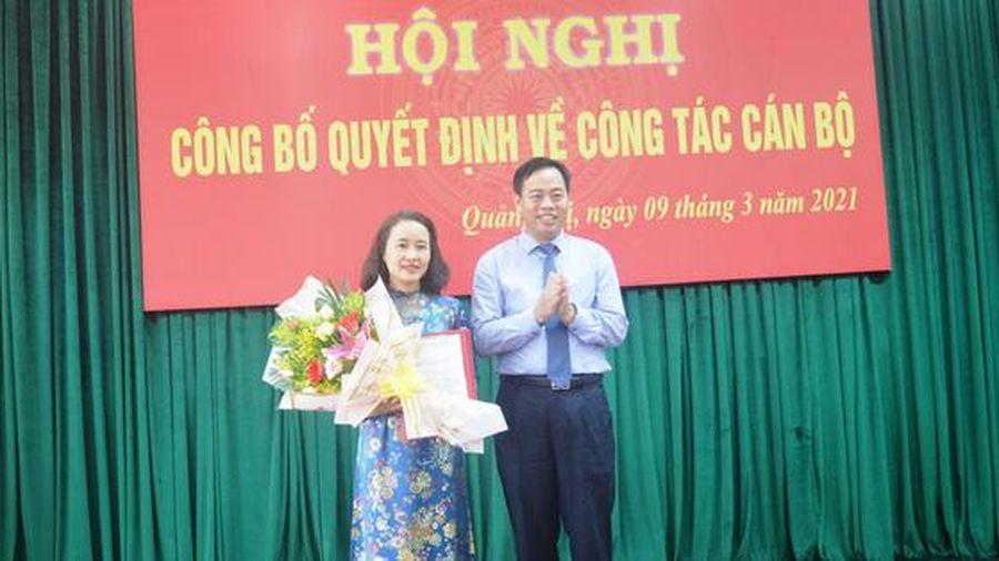 Chủ tịch Hội LHPN Quảng Trị giữ chức Bí thư Đảng ủy Khối Cơ quan và Doanh nghiệp tỉnh