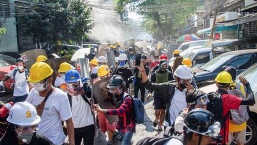Thêm 3 người biểu tình Myanmar thiệt mạng trong ngày Quốc tế Phụ nữ