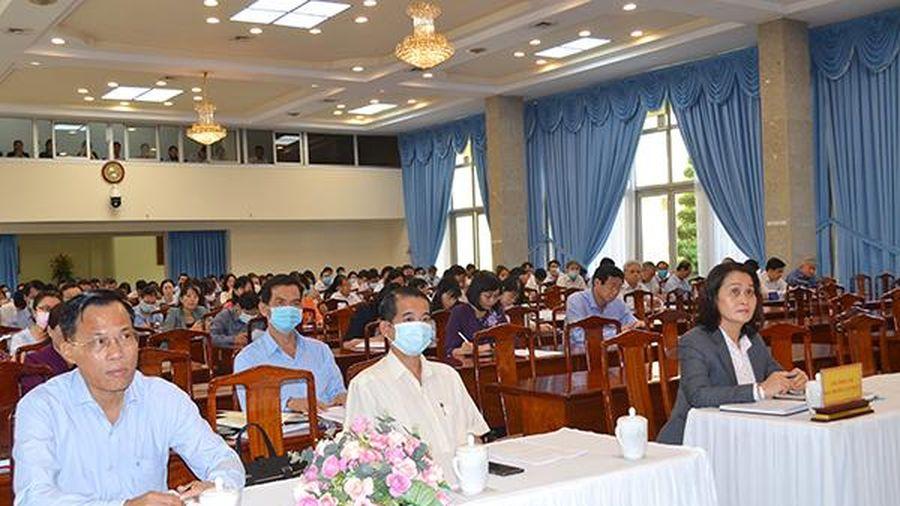 Tập huấn nghiệp vụ công tác bảo vệ chính trị nội bộ