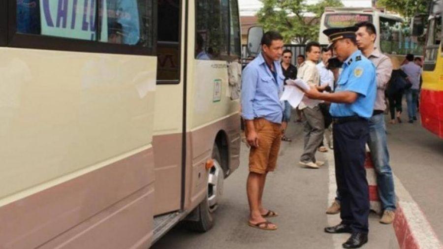 Hà Nội: Hơn 900 xe khách vi phạm, phạt tiền cả tỷ đồng