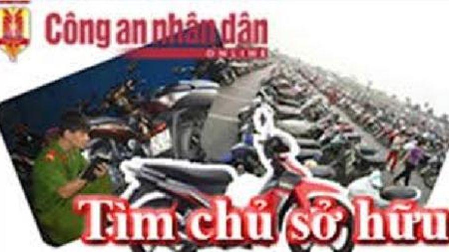 Tìm chủ sở hữu xe máy