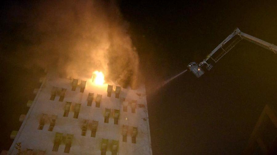 Ấn Độ: 7 cảnh sát thiệt mạng trong một đám cháy nhà cao tầng